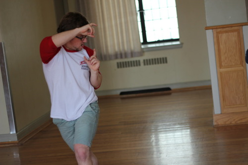 Logan takes a snapshot - Choreo Day, Summer 2011.