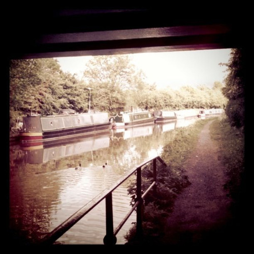 Would love to live on a canal boat!