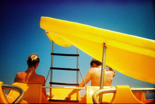 two year old film just processed Benicassim, Spain