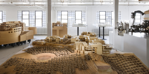 Richard Meier Model Museum, Long Island City, Queens, New York Wanna see this in person on Friday, June 3? We've got 20 spots on an exclusive tour! Go here to comment and enter.
