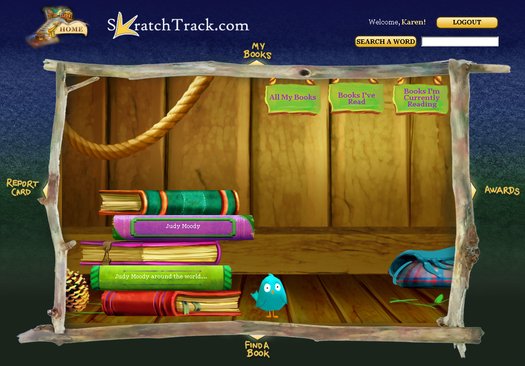 Skratch Track is a great virtual bookshelf for kids that is very student friendly. Teachers can add up to 40 student accounts and each student gets their own password and user name. It's a great way of kids to keep track of what they read throughout the year. And yes…it's FREE! I learned about Skratch Track from Kelly Tenkely's wonderful blog, iLearnTechnology. You can read more about it here.