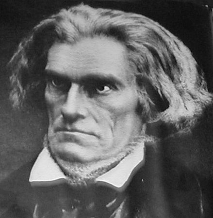 Did John C. Calhoun have a neck beard?