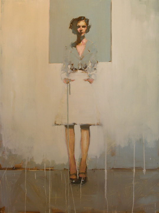 baboesjka:  'Blue Window' by Michael Carson