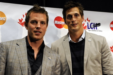 Richards and Lecavalier