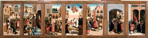 curtisquatch:  Master of Alkmaar - Works of Mercy - 1504