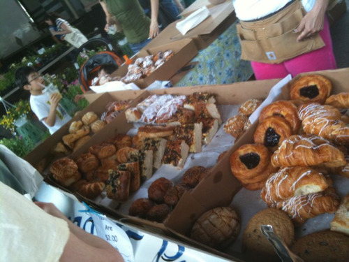 Pastries galore at the Baltimore Farmers Weekend.