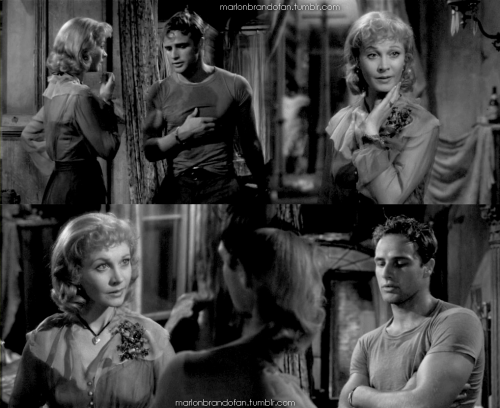 "Marlon Brando movie stills from the ""A Streetcar Named Desire"" (1951) A great movie!!! Submitted by VipVictor"