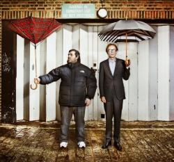 erkrnt:  Nick Frost & Bill Nighy.  Too much cool seen here.