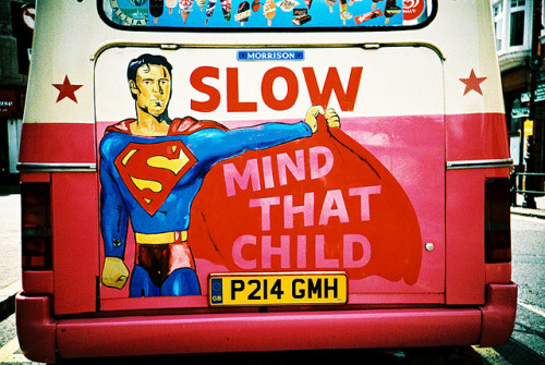 SLOW - mind that child by MrLomo on Flickr.