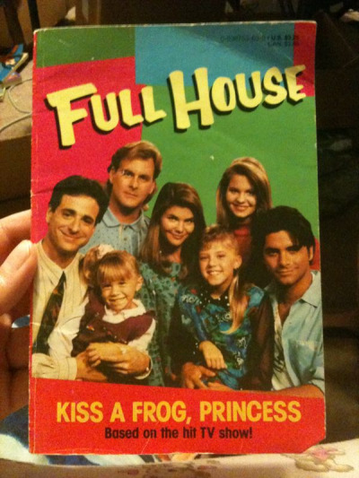Full House book from 1992. Based on the hit TV show!