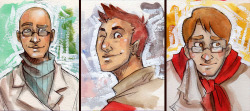 ATC trading cards for the TF2rp~ For Yaz, Rerun, and Ellen! What is traditional media?? These were drawn pretty small, and I have a hard time getting myself to draw small- let alone in traditional media.  Alas same-face syndrome presses on in my work…i will defeat you same-face syndrome, someday!!! >:U