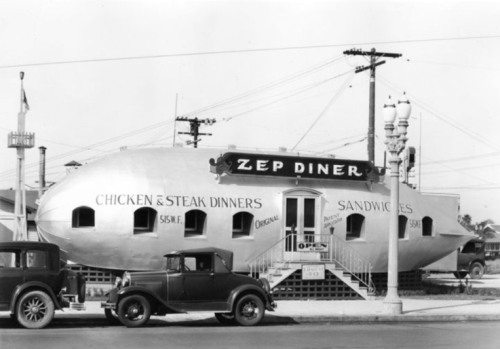 The Zep Diner in Hollywood, California - 1929