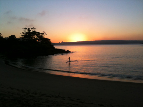 Sunrise at Balmoral Beach, Sydney.