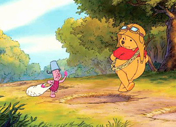 so excited for the winnie the pooh & piglet photo shoot