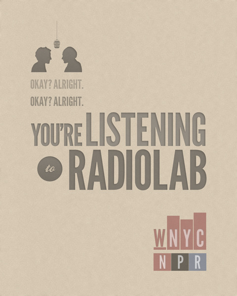 Listen to my current favorite radiolab episode about The War of The Worlds.
