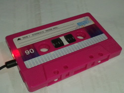 Hot Pink Cassette Tape Review on Wordpress.