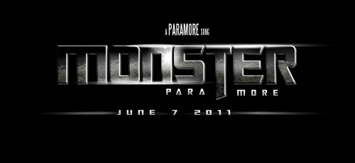 "Paramore's new song ""Monster"" will be on the official sound track of Transformers 3: Dark of the Moon! See the original Transformers graphic here"