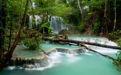 beingindonesian:  Matajitu Waterfall, Moyo Island, West Nusa Tenggara, Indonesia.