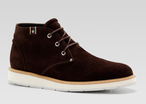 Gucci Chukka Boot  Yes. Absolute cleanliness.