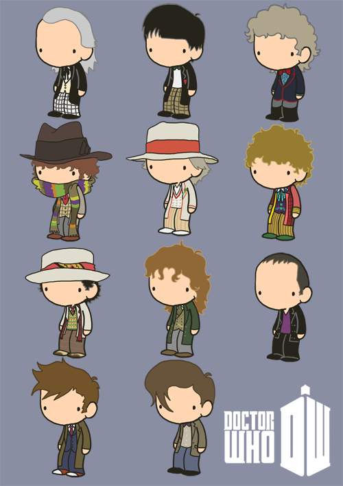 All the Lil' Doctors from this gif.