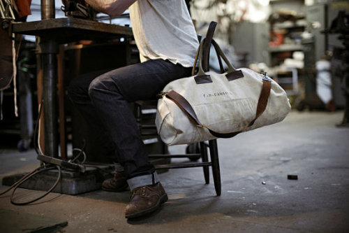 Forestbound Canvas Duffel