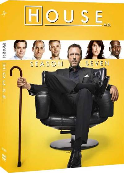 House season 7 DVD cover art