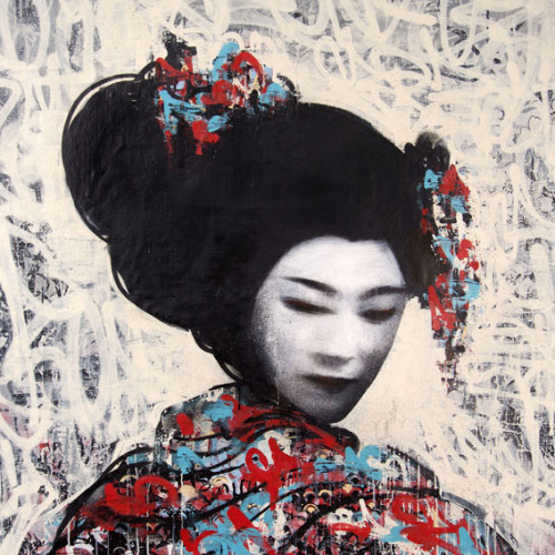 flavorpill:  East Meets West in Hush's Klimt-esque 'Twin' Series