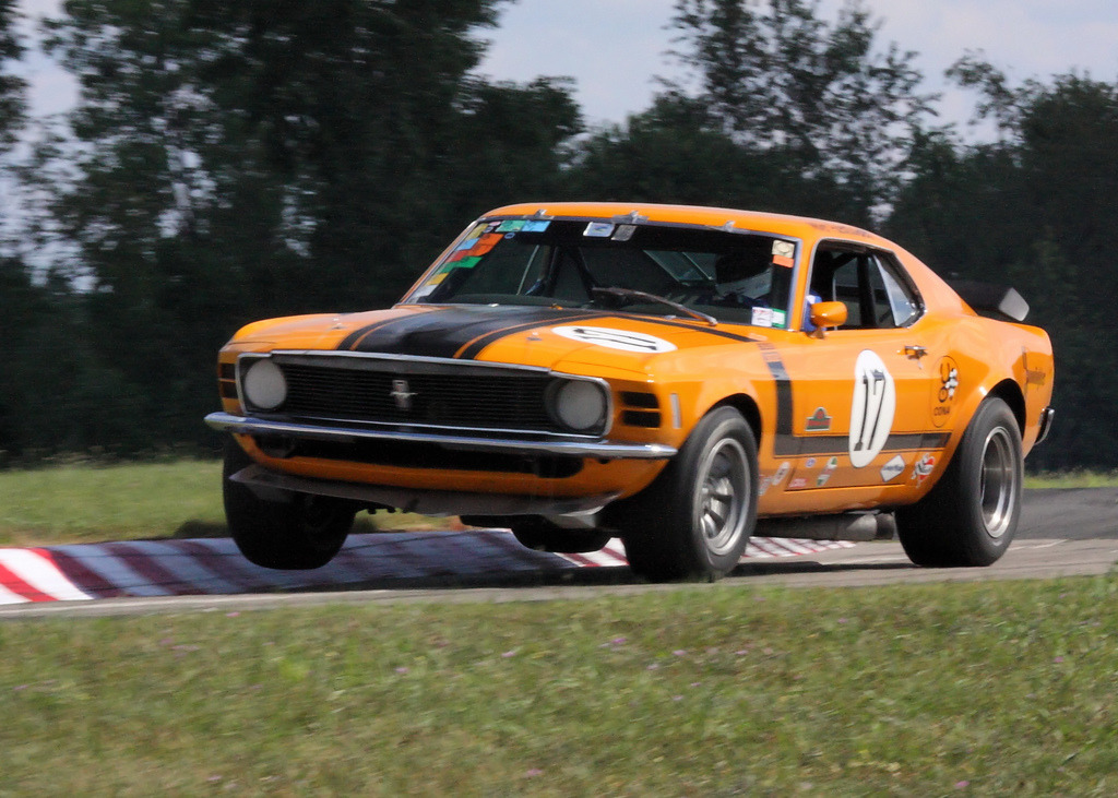 High Horse by Ed Frank 1970 Ford Mustang Location: Waterford Hills Raceway, Michigan