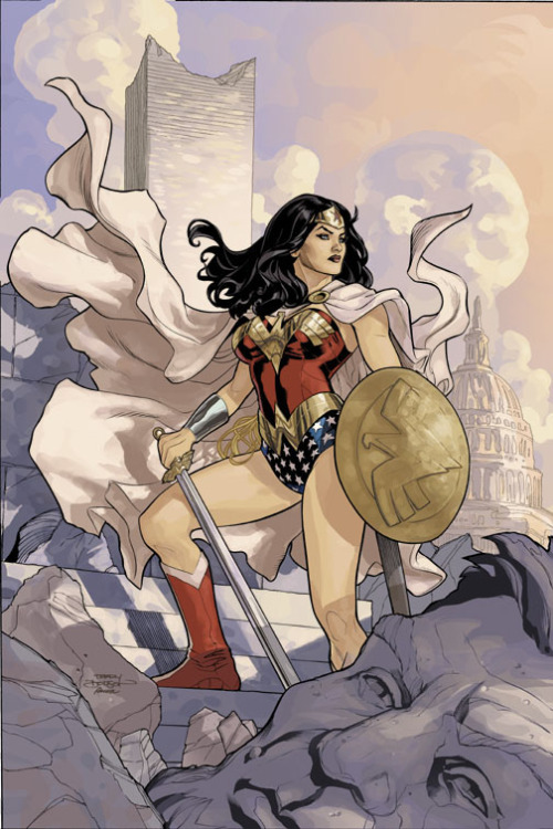 Wonder Woman has always seemed more interesting to me than either Batman or Superman (or the vast majority of other DC characters, to be fair). Wonder Woman #13 by Terry Dodson