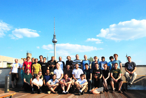 Yep, that's a picture of our team in Berlin (from last summer) and this post is about open positions for a small but growing San Francisco office. So: why don't you come help us out and we'll match that picture with an SF team photo! Are you the girl (or guy!) we're looking for? Head of Audio SoundCloud is the biggest platform on the web for sound and audio, not just music. We're also part of changing the perception and action of how people use sound across the web. Holding a leading position in the content team, your role will be focused on creating and implementing business strategy for all forms of existing and emerging non-music audio content — from radio, podcast and audio-blogging, to comedy, celebrities and entertainment, to audiobooks, archives, education and beyond. Full job description here. Community Manager (US) You live and breathe SoundCloud and its Community. You know that every interaction counts, you know what it takes to make a customer happy and you're beyond motivated to join our mission to create and support happy SoundClouders around the world. You love people and their stories, you're passionate and understand what it takes to help us out on our mission to unmute the web. It's about people and their stories! Full job description here. Developer Evangelist Are you a kick-ass coder who loves API hacking? Do you like to demo your hacks and make presentations? Be our Developer Evangelist to engage with our rapidly growing community of third-party developers and stir-up excitement around possible ways to use the SoundCloud API. Arrange and go to hackdays and meetups, make API presentations at events, showcase new ideas by building apps and help our partners with technical problems. Are you RESTful? Public Relations Manager  We're looking for someone with awesome energy and top notch abilities to draft and execute effective communications and manage relationships with various media & industry players and tech experts. Partner Integration Project Manager Are you passionate about the web and all the new services for sound creators? How about building relations with partner companies, help them connect their applications to SoundCloud and together build the world's greatest platform for audio-sharing?You will be working with some of the best audio and tech companies in the heart of the Valley. Your job will be to build and manage relations with partner companies, help them build kick-ass SoundCloud integrations and coordinate co-marketing efforts. Interested? Here's the full job description.