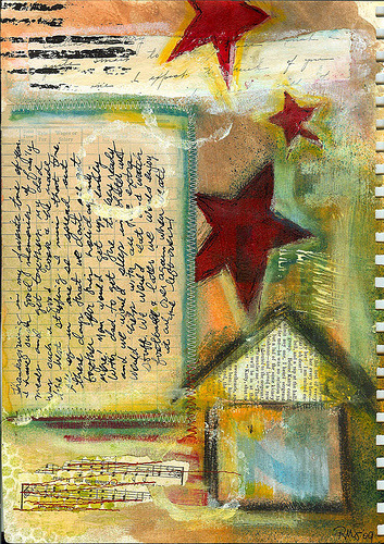 artjournaling:  Fond Memories (by Robes-Pierre)