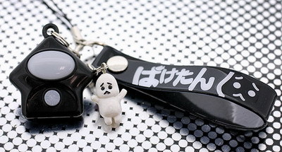 This is a ghost detector key chain!
