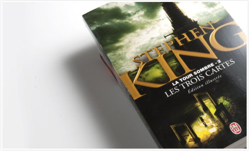 French latest edition of The Dark Tower II: The Drawing of the Three by Stephen King.