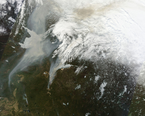 Wildfires in Alberta, Canada by NASA Goddard Photo and Video on Flickr.