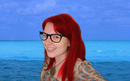 Me as Hipster Ariel. Thanks anonymous friend…
