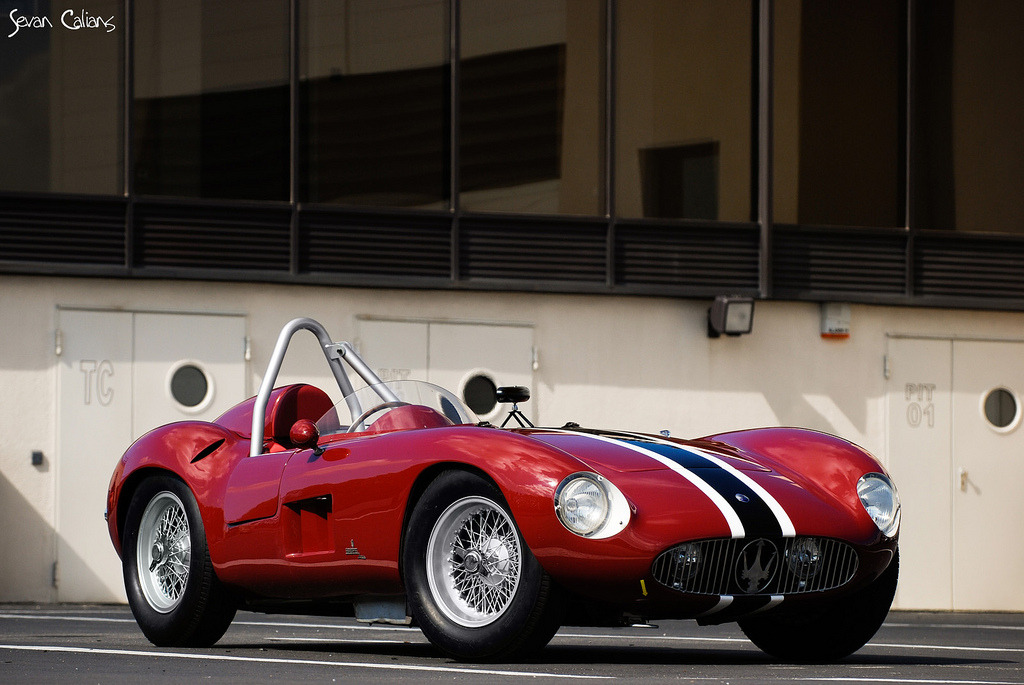 "Comeback Kid by Sevan Calians 1956 Maserati 300S ""Short Nose"" Location: France 1 of 28 produced"
