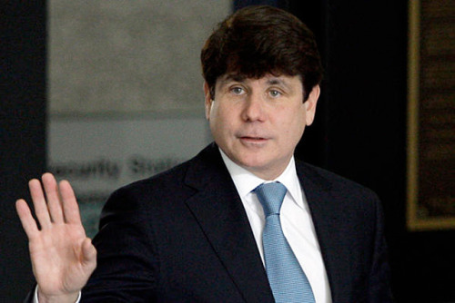 "Trial of the Century: Blagojevich may testify in his own defense Big day for Blago? The Chicago Tribune is reporting that ""sources"" indicate disgraced former Illinois Governor Rod Blagojevich may take the stand to testify in his own defense. We forgive you if you're skeptical, as we heard repeated proclamations from the man himself that he would testify in his last trial, only for his defense to rest without his name being called. Now in his retrial, will Blagojevich give the public what they want? His defense team has also implied they might call some high-profile witnesses from the political world, among them Chicago Mayor Rahm Emanuel. source Follow ShortFormBlog"