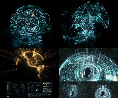 GMUNK—Tron Visual Graphics Recently the motion graphics pioneer Bradley G Munkowitz's, GMUNK, updated his portfolio with eight case studies for the visual graphics and eye-candy work that he lead for Tron.  Each of the projects show multiple renders, behind the scenes elements, and beautiful screenshots of the work.