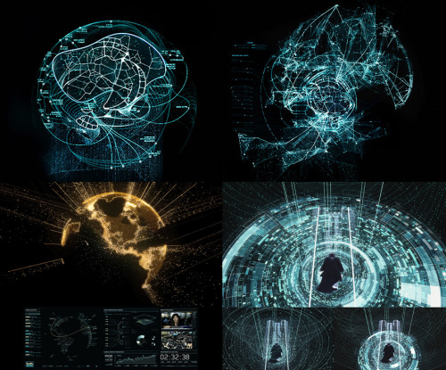 GMUNK—Tron Visual Graphics Recently the motion graphics pioneer Bradley G Munkowitz's, GMUNK, updated his portfolio with eight case studies for the visual graphics and eye-candy work that he lead for Tron.  Each of the projects show multiple renders, behind the scenes elements, and beautiful screenshots of the work.     For the entirety of 2010, munkowitz led a black-ops team of GFX all-stars deep into the darkness at Digital Domain crafting over 12 minutes of holographic content for the feature film Tron  Back in the early 2000s I remember being blown away by GMUNK's work.  In fact his work, along with other up and coming interactive and motion designers, was one of my major influences in perusing design. Bonus points to anyone who makes an animated GIF of his Mandingo Immortal project.  I'm sure it'll be an instant Tumblr hit.