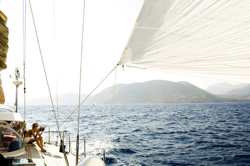 I want to sail to everywhere in the world.