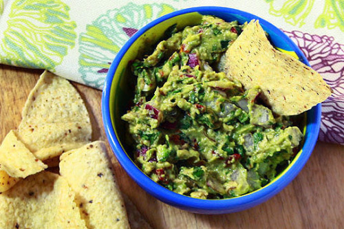 Guacamole with Sundried Tomatoes