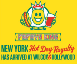 Any Seinfeld fans recognize this? Papaya King now in Hollywood!