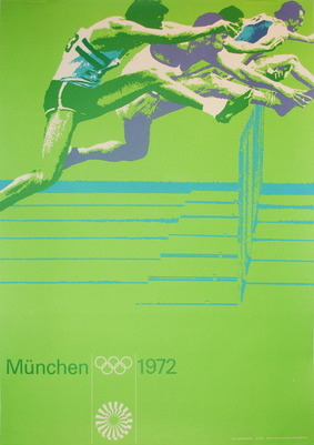Old School Advertisement for the 1972 Olympics.