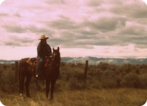 I want to be a cowgirl when I grow up.