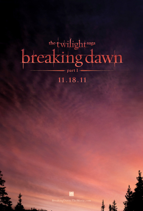 Poster: Twilight Breaking Dawn Part 1 | Latino Review