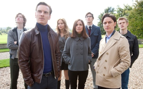 X-Men: First Class Review Kevin Bacon as a mutant Nazi! Rose Byrne in her pants! Nicolas Hoult done up like Sully from Monsters, Inc! And these aren't even the best things about Matthew Vaughn's vibrant, sprawling, ensemble origin story (well, maybe the Bacon bits…).  A franchise reboot reminiscent of JJ Abrams' 2009 Star Trek overhaul, this is the fifth film in the X-Men canon and even if it can't quite match Bryan Singer's X2 (among the finest of its kind) First Class is still fast, fresh and fun.  It's intelligent and emotionally resonant, explosive and eye-dazzling. Factor in a zeitgeisty, hot-list cast and First Class is likely to be one of the summer's best biggies. It sure as hell razes Brett Ratner's disappointing X-Men: The Last Stand (which Vaughn was slated for a one point) and Gavin Hood's time-waster Wolverine. Poland, 1944: a young Erik Lehnsherr is separated from his parents in a concentration camp; meanwhile, in an affluent but isolated stately home in New York a young Charles Xavier happens upon a strange blue little girl who's able to disguise herself as other people.  Eighteen years later, Erik (Michael Fassbender) and Charles (James McAvoy) have matured into powerful, charismatic men with opposing agendas.  Their paths cross in the pursuit of former Nazi Sebastian Shaw (Kevin Bacon), a ruthless mutant supremacist plotting to use the Cuban Missile crisis to provoke a war among humans.