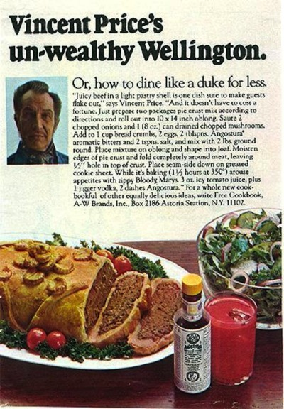 Vincent Price's un-wealthy Wellington   —via greggorysshocktheater