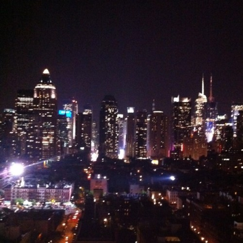 Great view from room 1701 at Ink48 (Taken with Instagram at Ink48 Hotel)