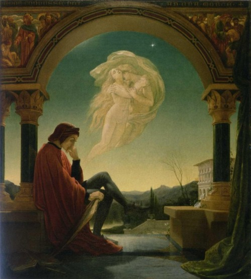 missfolly:  Dante Meditating, by Joseph Noel Paton