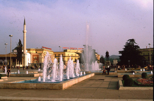 Tirana Albania 1989 by Maverick12 on Flickr.